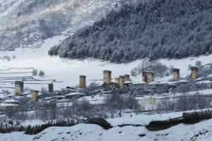 Winter in Mestia