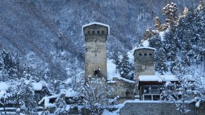 Winter tour in Svaneti