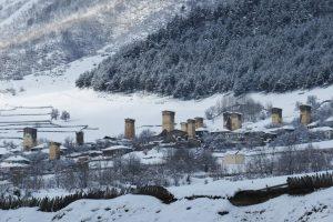 Winter in Mestia